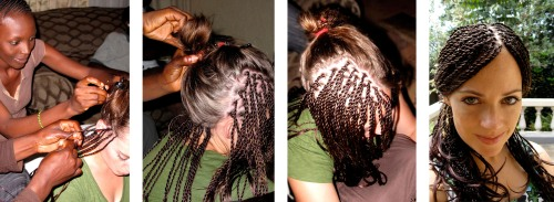 hair weave mesh