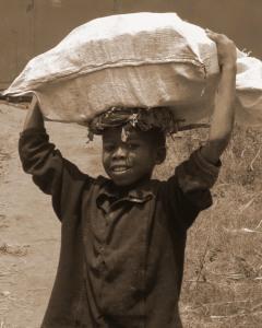 child's burden africa